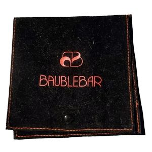 Baublebar Small Flap Jewelry Pouch NWOT